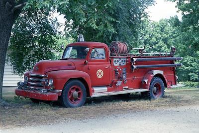 BROOKFIELD FD  ENGINE 317  1952  DIAMOND T - PIRSCH   500-200   PD-45