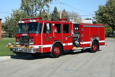 BROOKFIELD FD  ENGINE 421  2007  E-ONE  TYPHOON   1500-500-30F   32725
