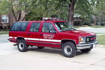 BROOKFIELD FD  CAR 418  1995  GMC SUBURBAN