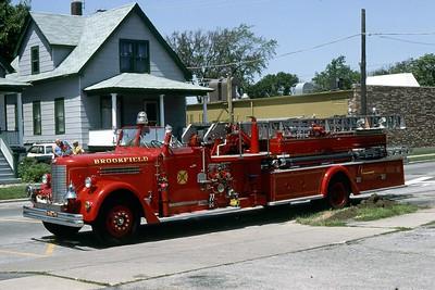 BROOKFIELD FD  TRUCK 319  1949  PIRSCH  750-100-65'   # 1754