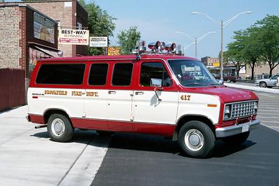BROOKFIELD FD  CAR 417  1979  FORD ECONLINE VAN