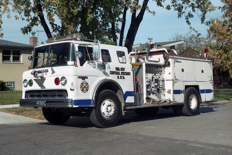 CENTRAL STICKNEY ENG 907 WITH BLUE STRIPE  BF