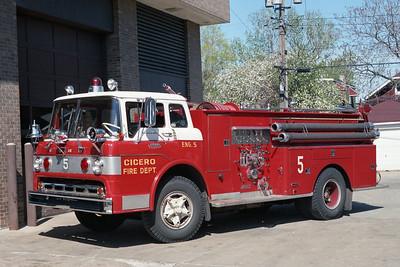 CICERO FD  ENGINE 5  FORD C - DARLEY