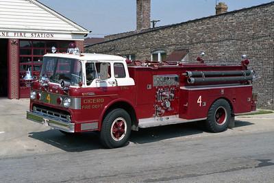 CICERO FD  ENGINE 4  FORD C-DARLEY