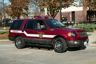 ELMWOOD PARK COMMAND CAR 949
