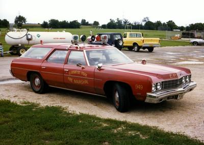 ELMWOOD PARK  CAR 942  FIRE MARSHALL