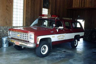 FOREST PARK CAR 408  SUBURBAN