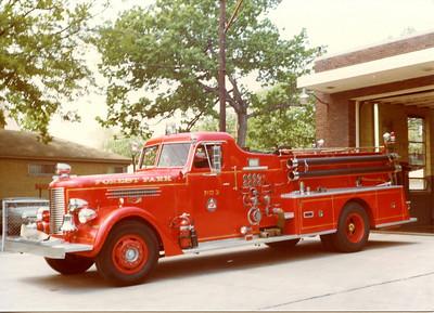 FOREST PARK FD ENGINE 403 1956 PIRSCH