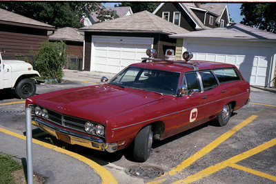 FOREST PARK  FORD STATION WAGON