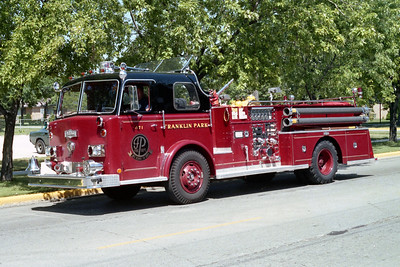 FRANKLIN PARK  ENGINE 471   1971 PIRSCH   1250-500    #2975