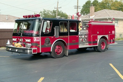 FRANKLIN PARK  ENGINE 3   1989 E-ONE HURRICANE   1500-500   #7164