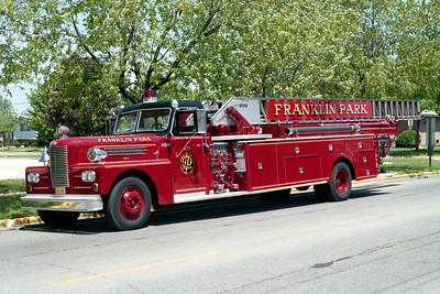 FRANKLIN PARK  TRUCK 475   1962 PIRSCH   1000-200-100'
