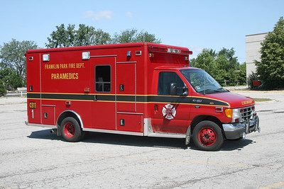 FRANKLIN PARK AMBULANCE 481