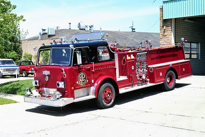 FRANKLIN PARK  ENGINE 478   1975 PIRSCH  1250-500