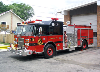 FRANKLIN PARK  ENGINE 1  1999 PIERCE SABER  1500-500