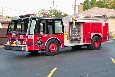 FRANKLIN PARK  ENGINE 2   1984 E-ONE HURRICANE  1250-500   # 3644