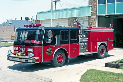 FRANKLIN PARK  ENGINE 474   1984 E-ONE HURRICANE  1500-500   # 5644