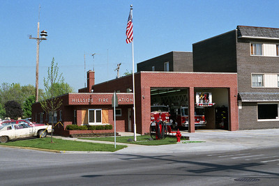HILLSIDE FIRE STATION BEFORE ADDITION  BF