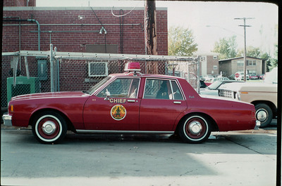 HILLSIDE FD CAR 411  CHEVY IMPALA  JEFF SCHIELKE COLLECTION  BF