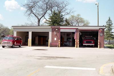 HINES VA HOSPITAL FIRE STATION AFTER ADDITION