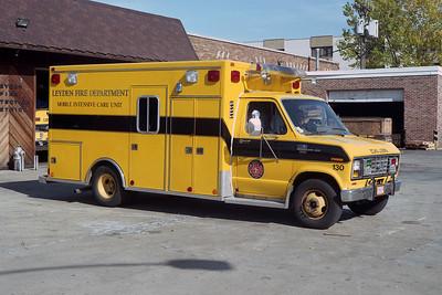LEYDEN FPD AMB 130  1986 FORD E-350 - MOBILE MED    BF