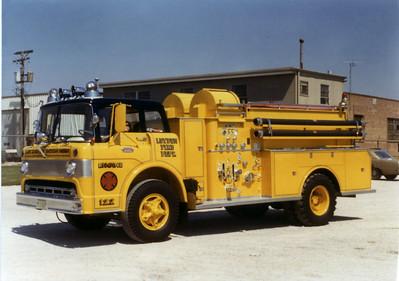 LEYDEN FPD  ENG 122 1964 FORD C-800 - BEAN  750-1000