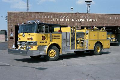 LEYDEN FPD ENG 133 1978 HENDRICKSON 1871W - FMC  1250-750   BF
