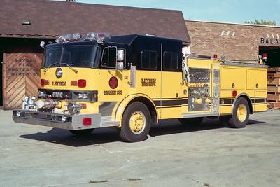 LEYDEN FD  ENGINE 133  HENDRICKSON - FMC