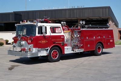 NORTH RIVERSIDE  ENGINE 808  MACK CF