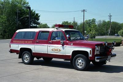 NORTH RIVERSIDE  CAR 803  CHEVY SUBURBAN