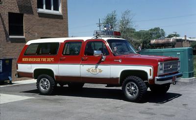 NORTH RIVERSIDE  CAR 401   CHEVY SUBURBAN