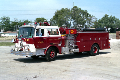 NORTH RIVERSIDE  ENGINE 803 WITHOUTH OVERHEAD LADDER RACK