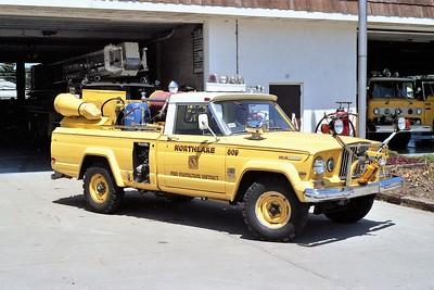 NORTHLAKE  BRUSH 809  1966 JEEP CHEROKEE - DARLEY   90-200    OFFICERS SIDE
