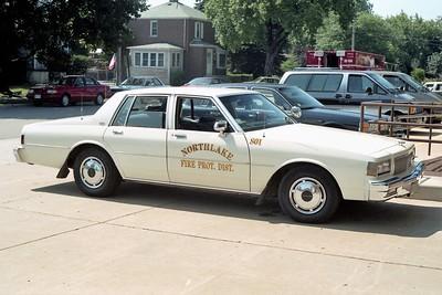 NORTHLAKE  CAR 800  1984  CHEVY CAPRICE   X-801