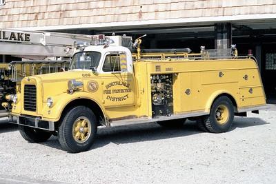 NORTHLAKE  ENGINE 806   1957 IHC V200 - DARLEY  1000-500    #452