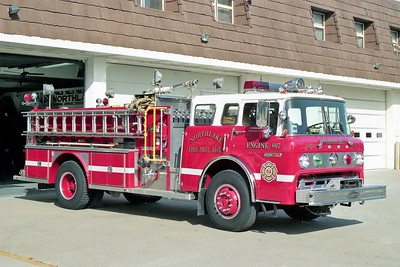 NORTHLAKE  ENGINE 807  1979 FORD C8000 - E-ONE  1250-750  #1134   REPAINTED