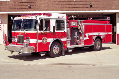 NORTHLAKE  ENGINE 808  1996 SPARTAN - DARLEY  1500-750-40