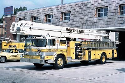 NORTHLAKE  SNORKEL 803  OSHKOSH - PIERCE  85' SNKL
