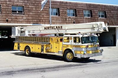 NORTHLAKE SNORKEL 803  1969 OSHKOSH - PIERCE   1000-0-75'   #7077-C