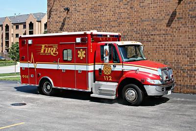 NORWOOD PARK FD  AMBULANCE 112  2005  IHC 4300 - MEDTEC   #5998