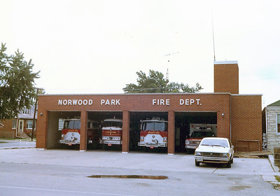 NORWOOD PARK FD  STATION 1   BEFORE REMODELING