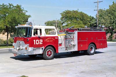 NORWOOD PARK FD  ENGINE 102  1978  MACK CF600   1000-300   CF685F12-2043