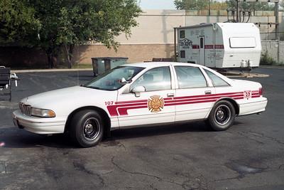 NORWOOD PARK FD  CAR 107  1994  CHEVY CAPRICE