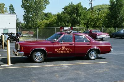 PLEASANTVIEW CAR 533  FIRE PREVENTION BUREAU