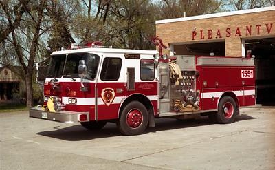 PLEASANTVIEW ENGINE 1551  E-ONE