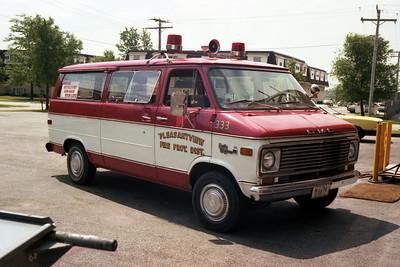 PLEASANTVIEW CAR 333   CHEVY VAN