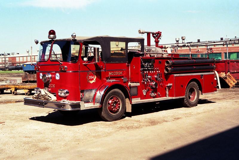 ENGINE 354  X-McCOOK