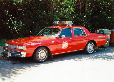 RIVER FOREST FD  CAR 229  1988  CHEVY CAPRICE