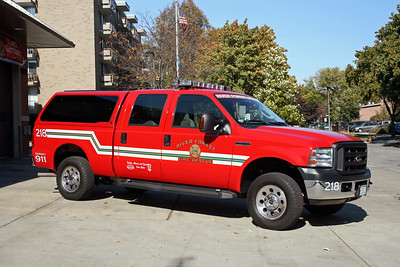 RIVER FOREST FD  UTILITY 218  2006  FORD F250 4X4