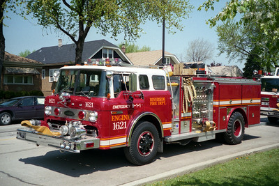 RIVERSIDE ENGINE 1621  FORD - E-ONE